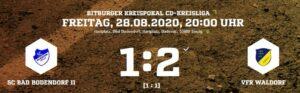 Teaser Scbii Waldorf 280820 Ergebnis