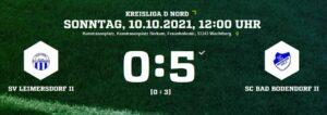 Teaser Leimersdorf Scbii 101021 Ergebnis