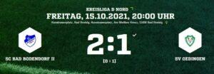 Teaser Scbii Oedingen 151021 Ergebnis