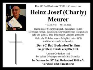 Nachruf Meurer Heinz Josef 100Mm3Sp 4C 040520