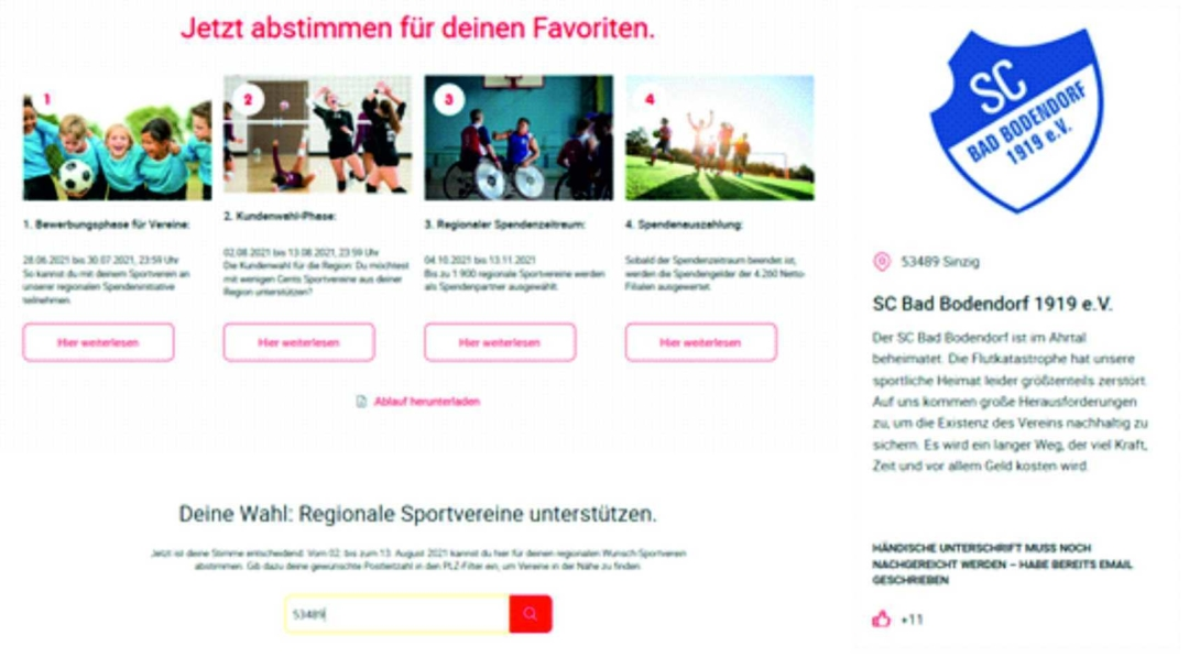 Netto Vereinsspende Netto Scb 020821