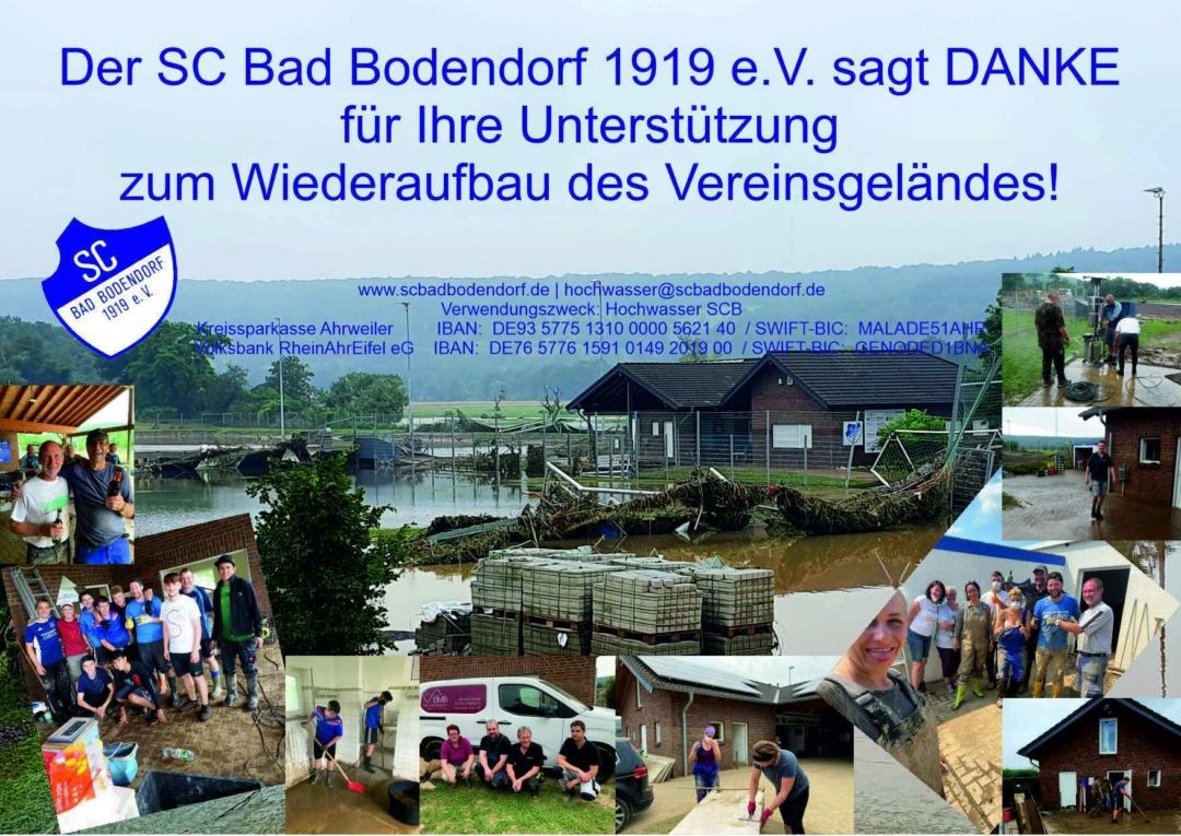 Spende Hochwasser Scb 270721 A4 4C Danke