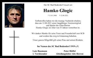 Nachruf Glogic Hamko 120821
