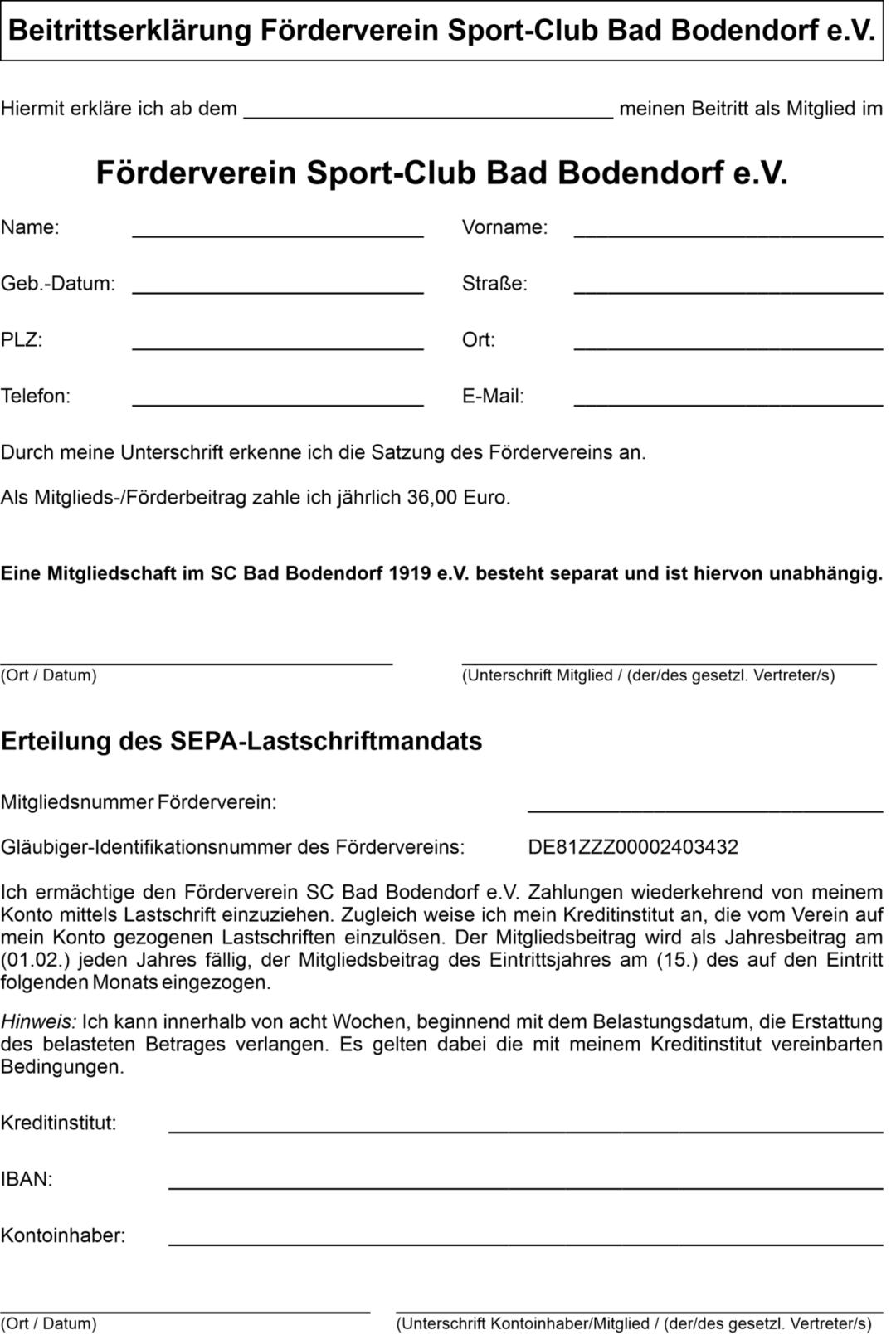 Beitrittserklärung Förderverein Stand060421