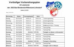 Screenshot A Junioren Trainingsplan 260618