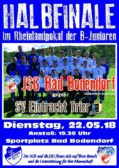 Plakat B1 Trier 220518 Pokal Halbfinale 1100Px