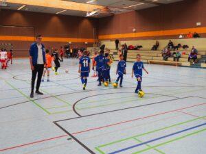E2 Mannschaft Lars Heine Hallencup010320