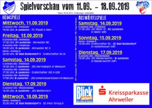 Spielvorschau 1109 180919 090919