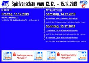 Spielvorschau 1312 151219 091219