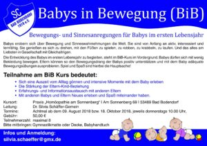 Babys In Bewegung A4 4C 180618