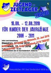 Flyer Jugendzeltlager 10 120818 140618