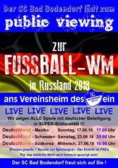 Plakat Public Viewing Vorrunde 050618