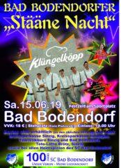 Plakat Stääne Nacht Klüngelköpp Sra3 4C 071118 Teaser Vorverkaufsstellen