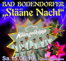 Plakat Stääne Nacht Klüngelköpp Teaser