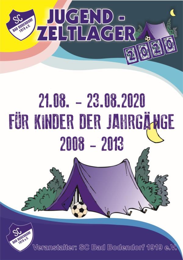 Flyer Jugendzeltlager A5 4C 21 230820 280129