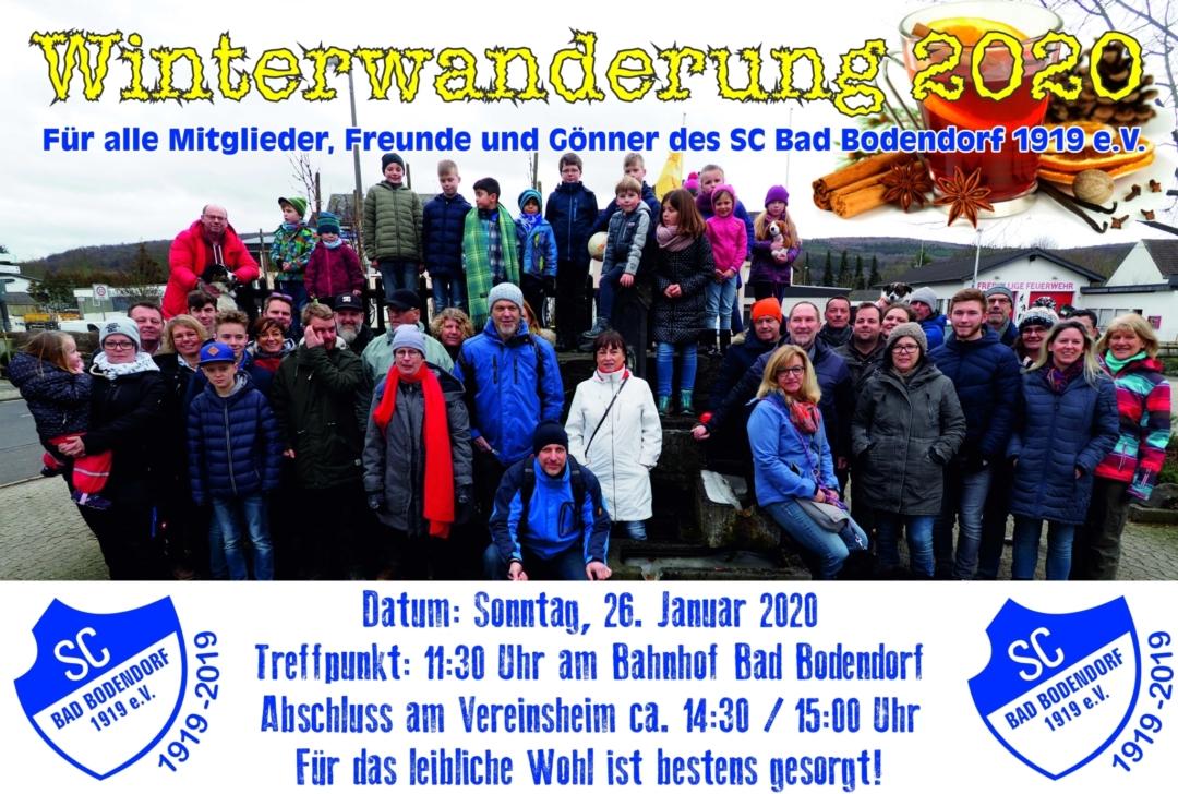 Winterwanderung Am 270119 140119