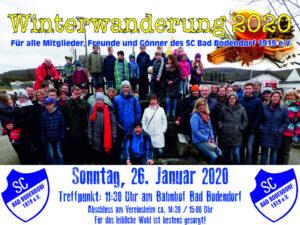 Winterwanderung Am 260120 261119