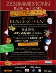 Plakat Benefizkonzert 080921
