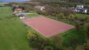 Scb Sportplatz Asche 020521 Luftaufnahme