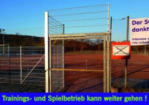 Sperrung Sportplaz Ist Aufgehoben 010318