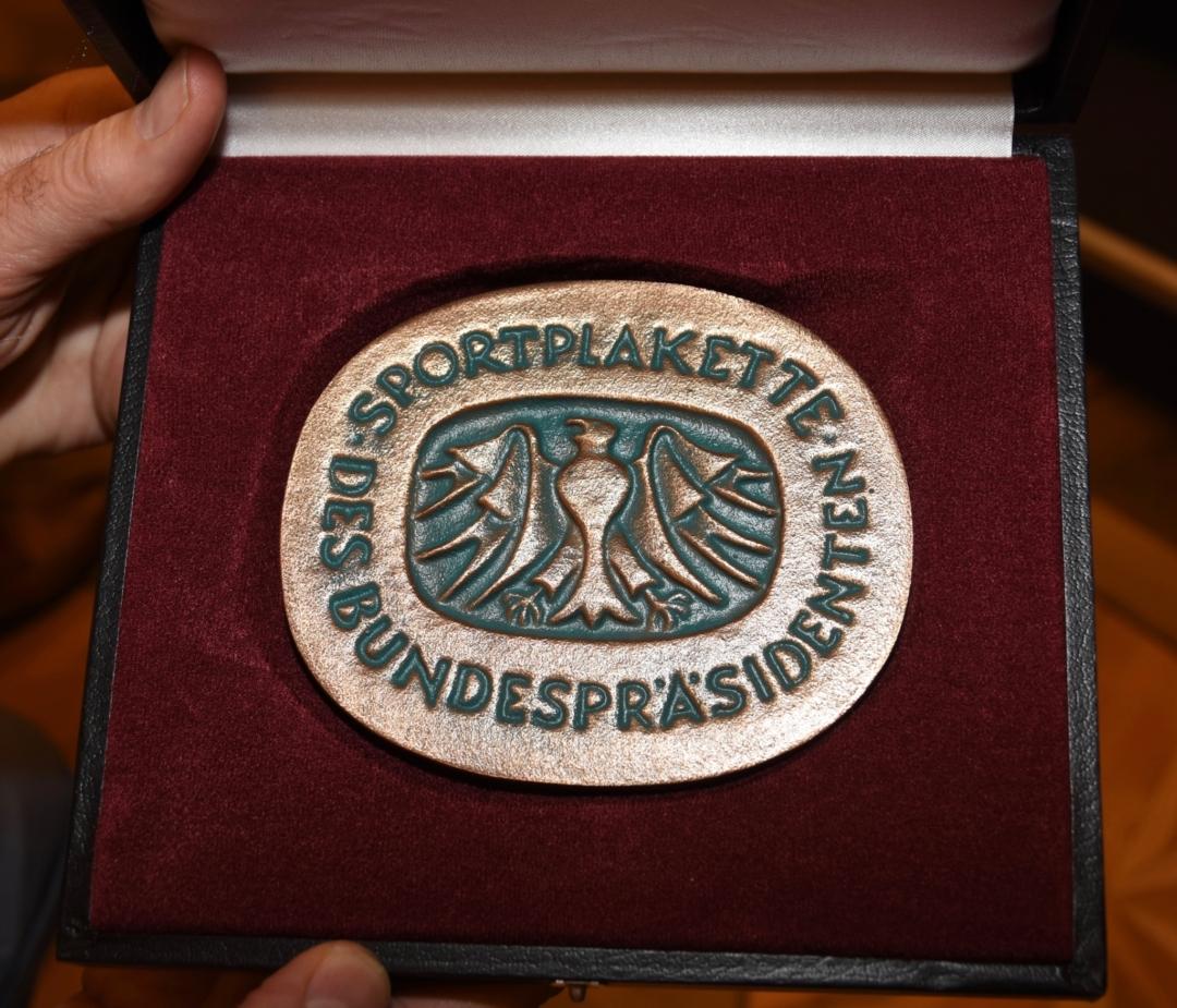 Sportplakette Bundespräsident 031219 4